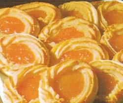 Marcipaniniai sausainiai su abrikosais