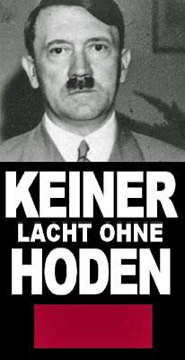 Adolf Hitler keiner lacht ohne Hoden lustig