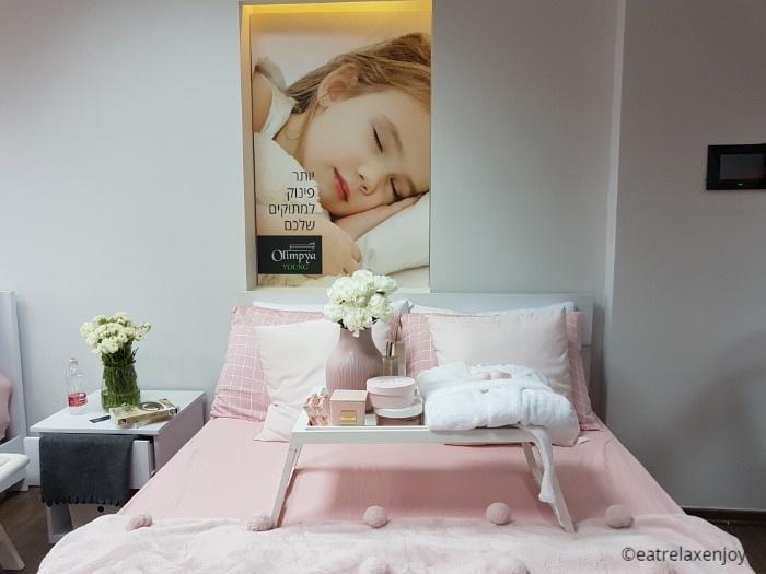 אולימפיה Olympia - מזרונים וחדרי שינה בהתאמה אישית מהיצרן לצרכן