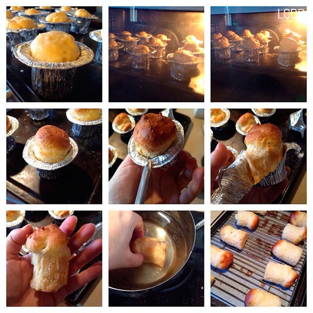 Receta de torta de babás napolitanos al ron 06