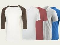 Model Kaos yang Harus Diketahui sebelum Cari yang Jual Kaos Polos