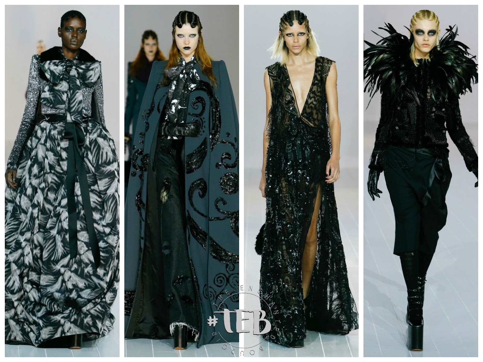 marc jacobs goth collection