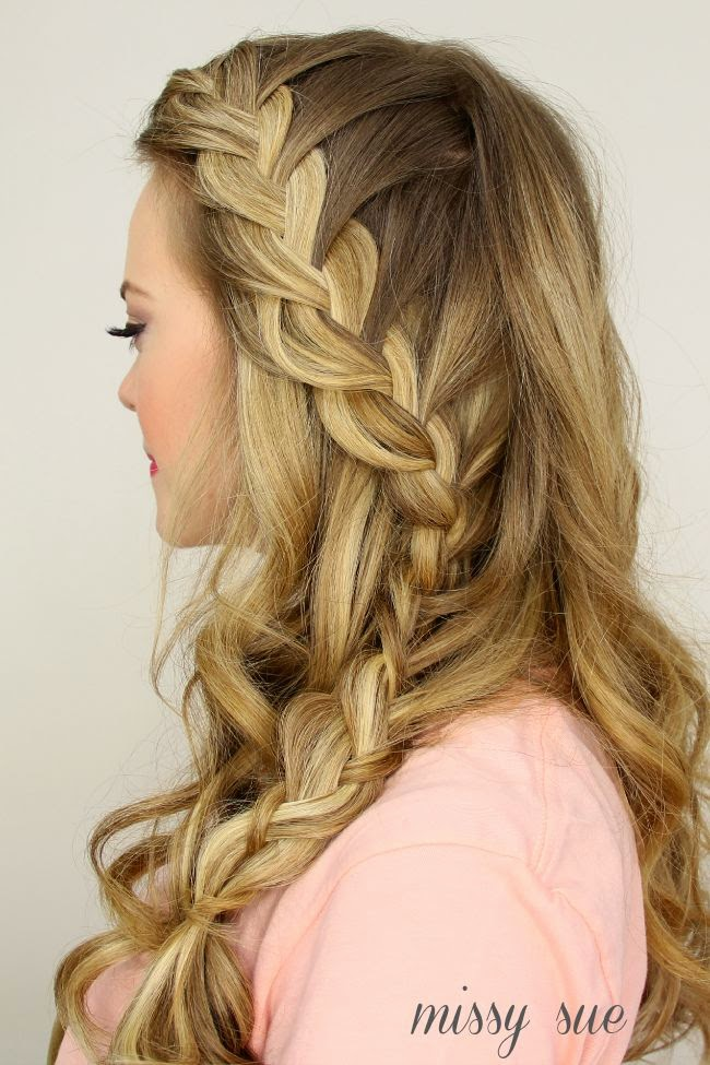 Side French Braid For Beginners Video Tutorial The