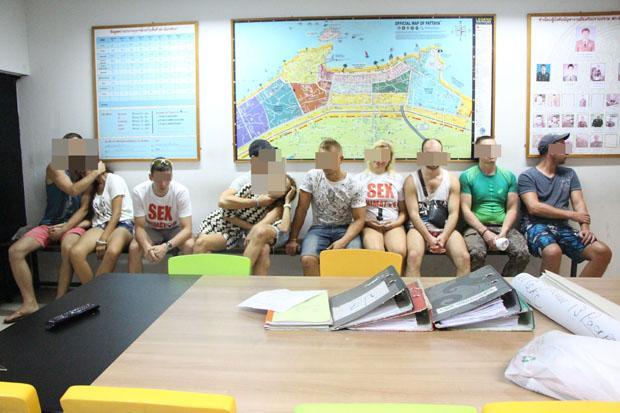 Thailand Tahan 10 Warga Rusia yang Kelola Pelatihan Seks di Pattaya