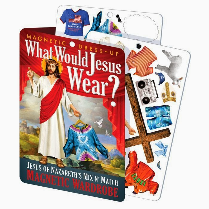 Funny What Would Jesus Wear? Joke Picture