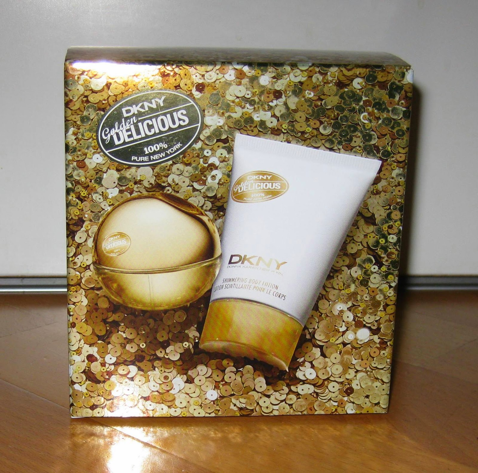 Beautyful Blog By Pampashase Review Dkny Golden Delicious