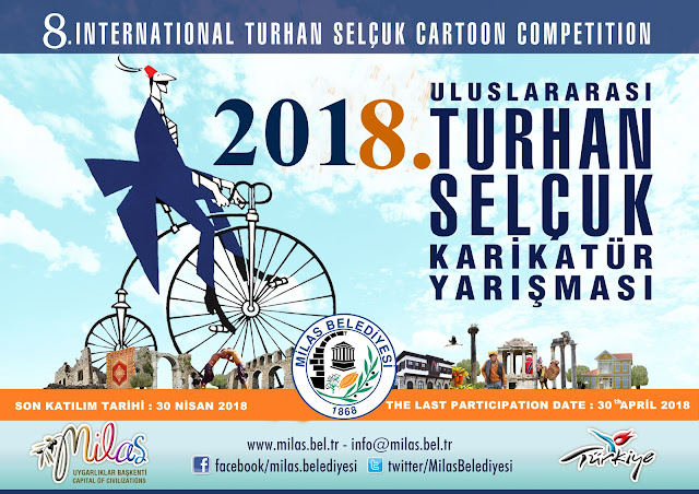 Gold Pencil Indonesia_8th International Turhan Selcuk Cartoon Competition 2018 Turkey