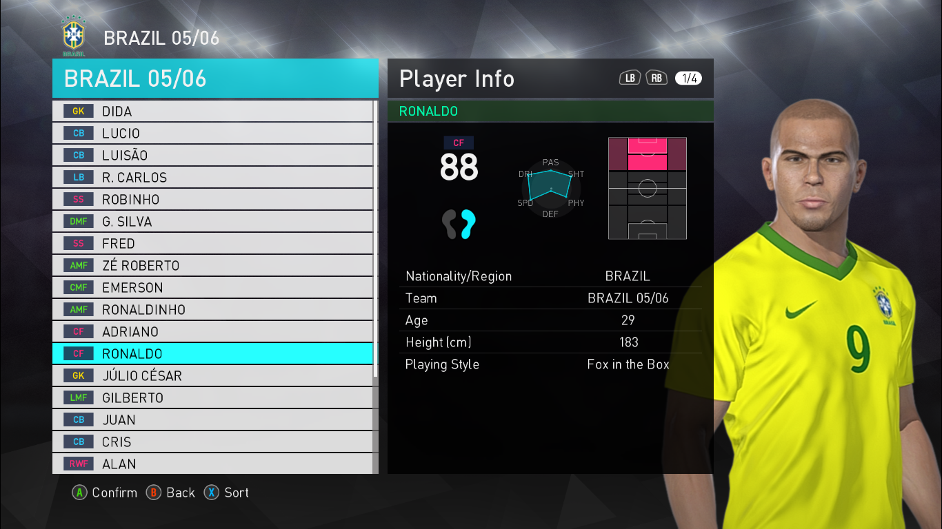 Legends Patch | National Teams & Clubs | PES2018 | Released [30 03