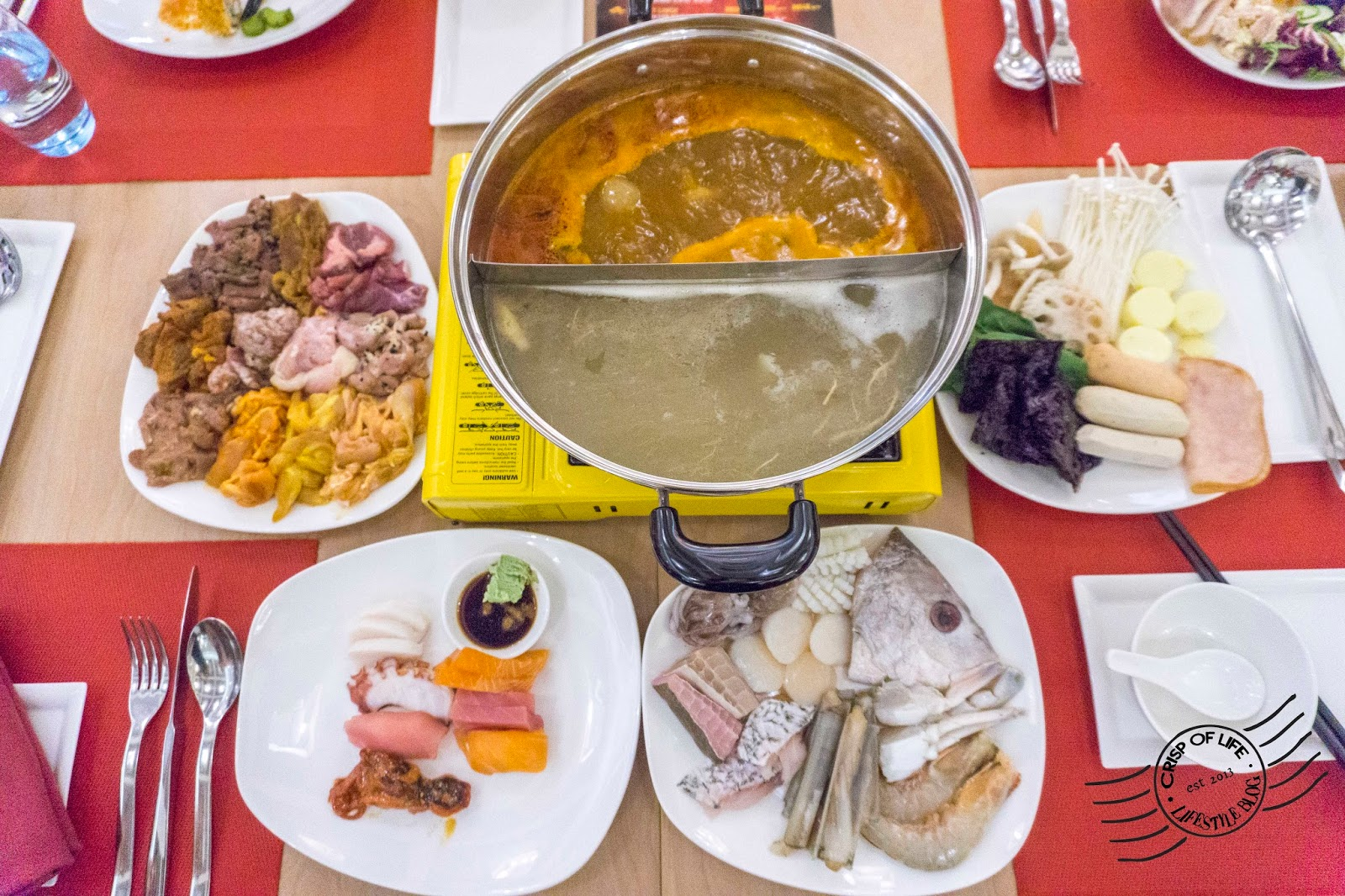 2017 Chinese New Year Steamboat Buffet, Seafood Buffet & 8-Course Set Meal @ Lexis Suites Penang