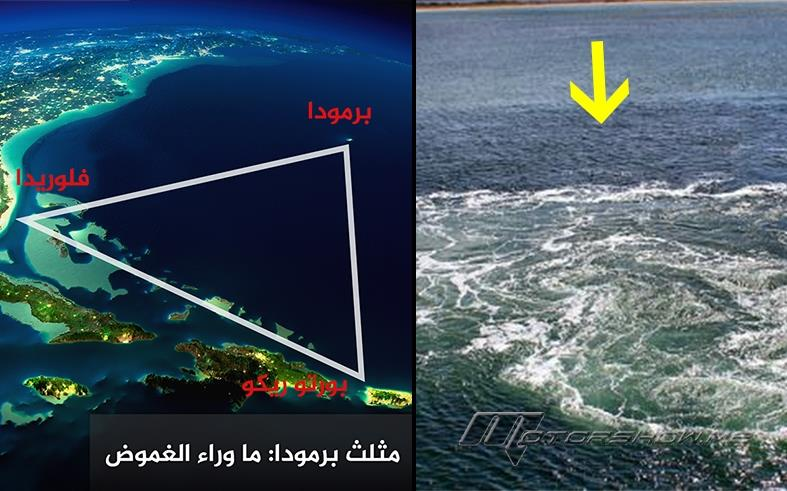 حقيقة لغز مثلث برمودا تفسيرا علميا و إسلاميا وفي القرآن الكريم Munueat Blog
