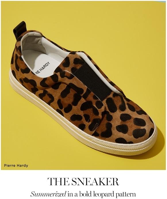 Summer Sneaker Leopard Pattern
