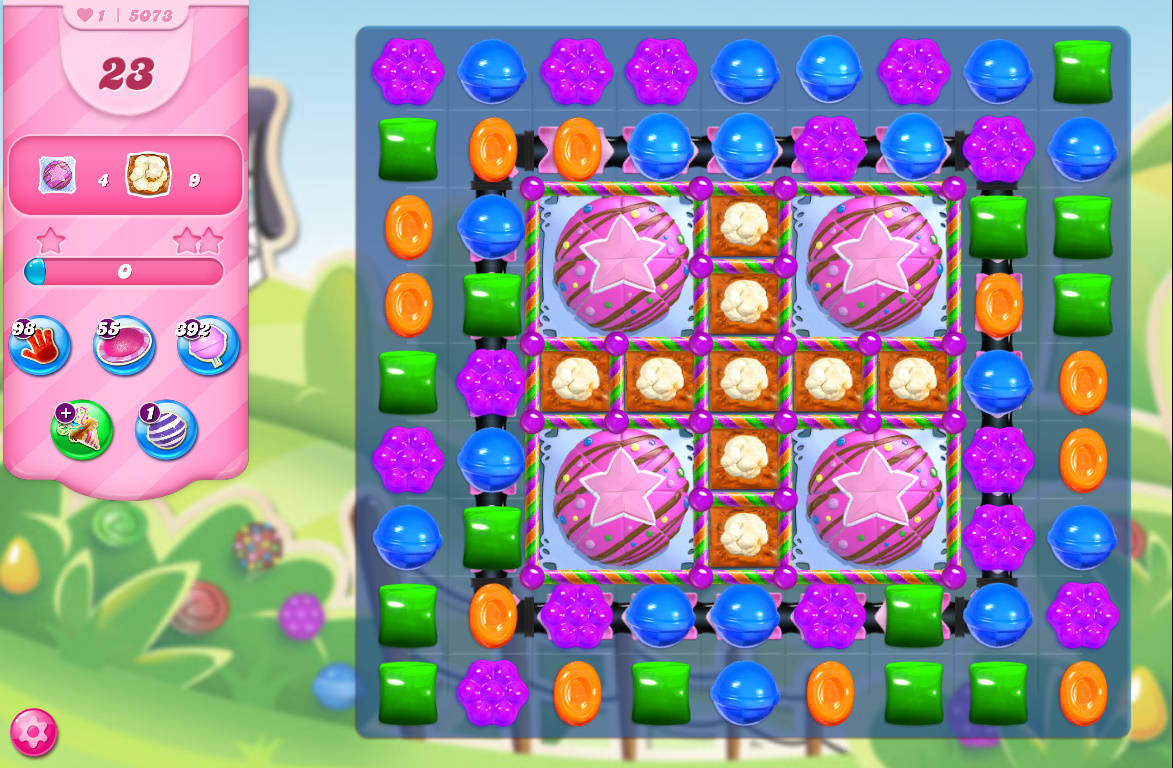Candy Crush Saga level 5073