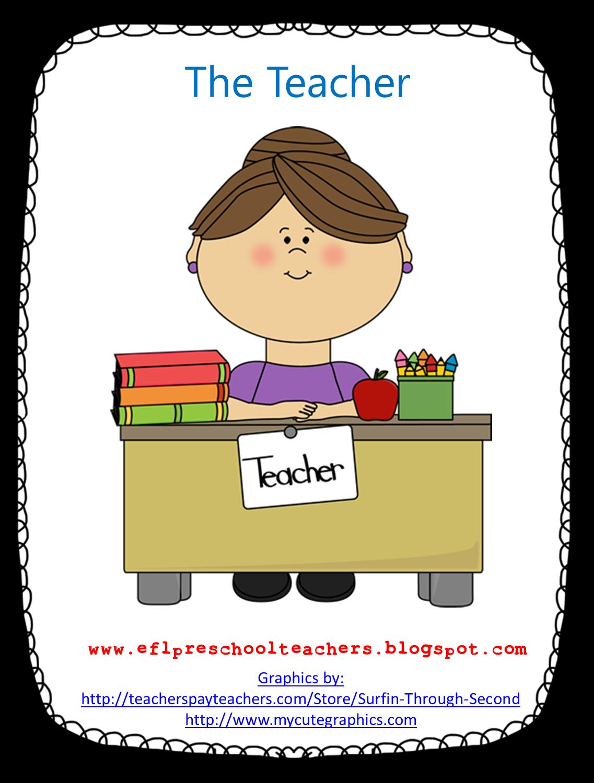 Esl Efl Preschool Teachers Community Helpers Resources