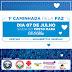 Cartaz: I Caminhada da Paz organizada pelo Clube da Fraternidade Aurino Costa será realizada dia 07 de julho em Ruy Barbosa