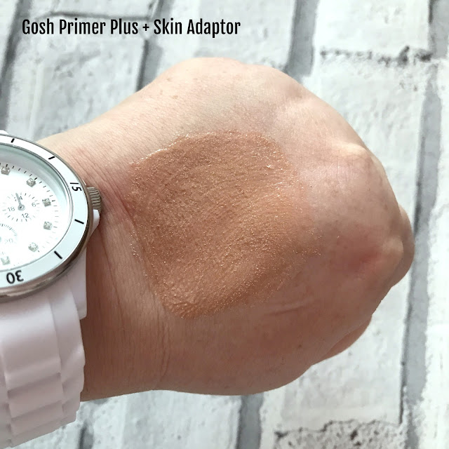 GOSH AW 17 New Collection Primer Plus Swatch
