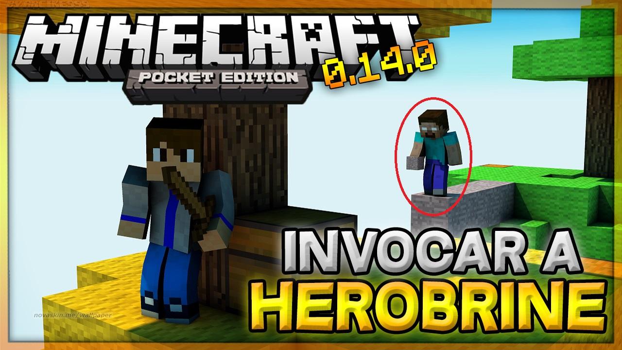 Como invocar a herobrine en minecraft pe trucos for Casa moderna para minecraft pe 0 14 0