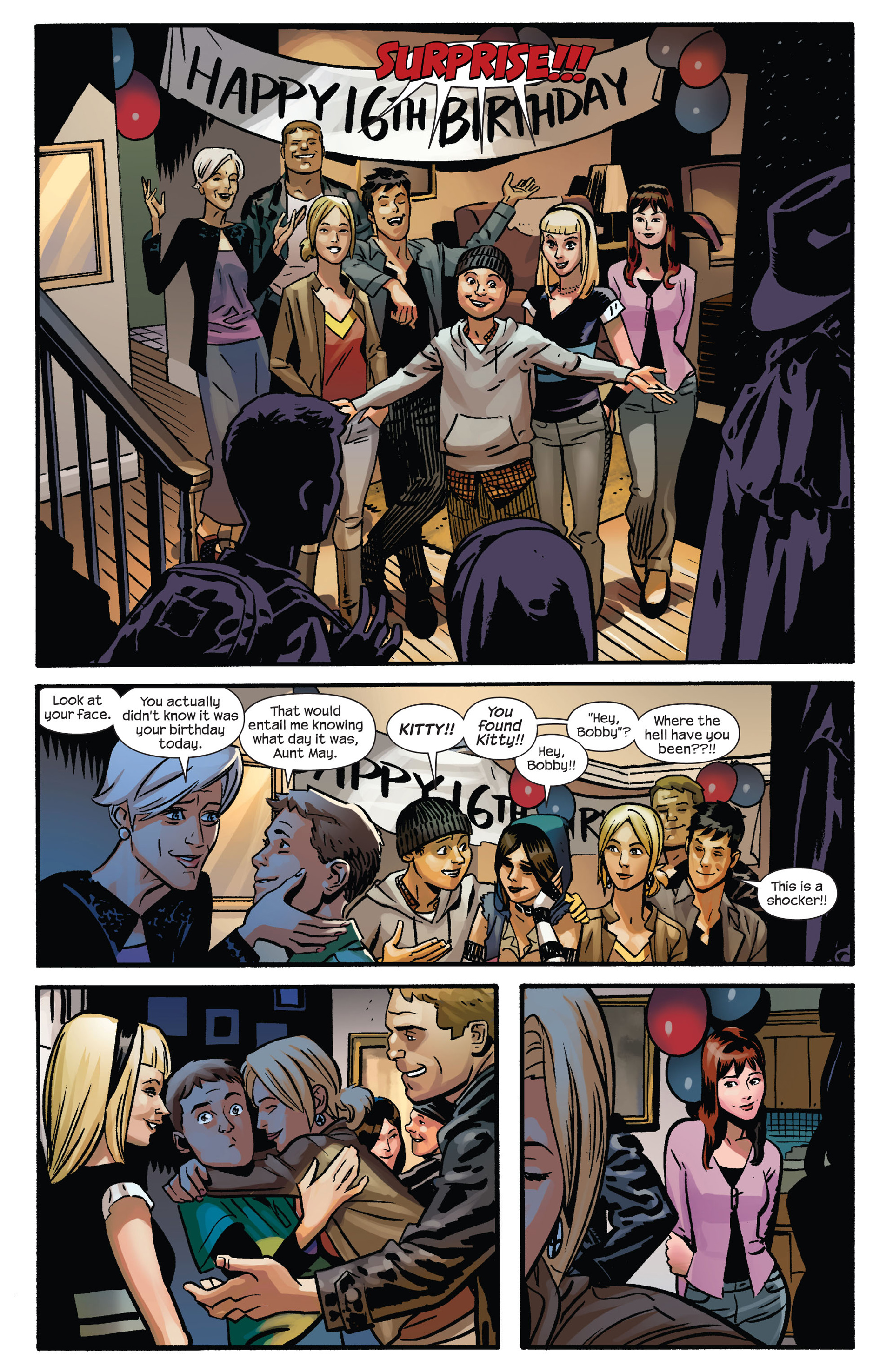 Read online Ultimate Spider-Man (2009) comic -  Issue #155 - 16