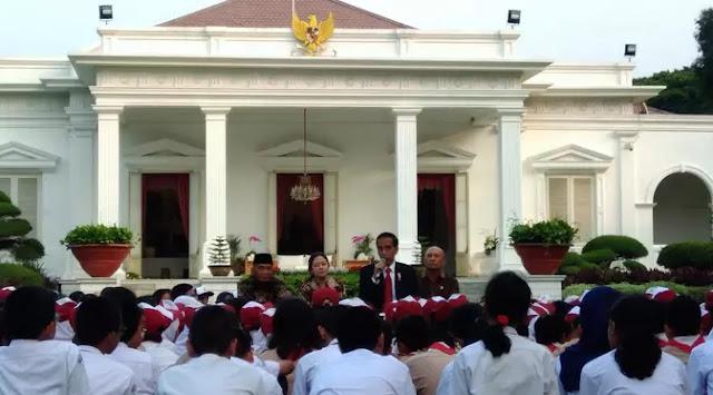 Begini Sindiran Halus Jokowi Kepada Politikus Yang Haus Kekuasaan