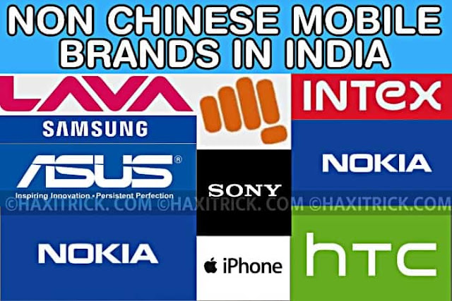 Non Chinese Mobile Phones List in India