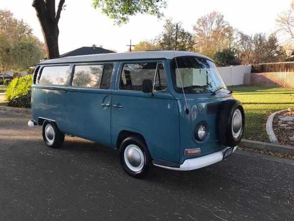 Dove Blue 1968 Volkswagen Bus Vw Bus Wagon