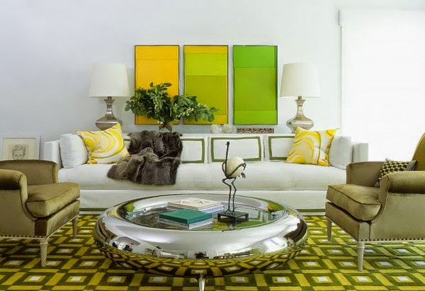 Green Living Room Designs For More Calming Atmosphere Interior Design And Decorating Articles