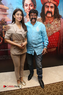 Shriya Saran Nandamuri Balakrishna at Gautamiputra Satakarni Team Press Meet Stills  0102.JPG