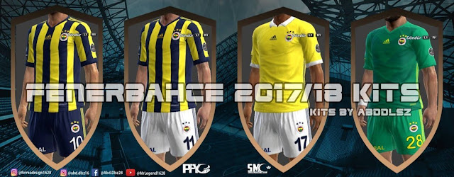 Fenerbahçe 2017/18 Kit PES 2013