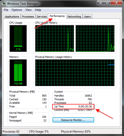 Task Manager Windows 7