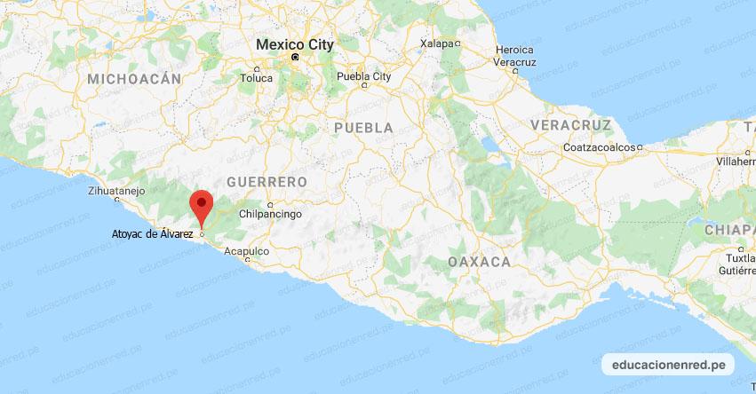 Temblor en México de Magnitud 4.1 (Hoy Lunes 12 Agosto 2019) Sismo - Epicentro - Atoyac de Álvarez - Guerrero - GRO. - SSN - www.ssn.unam.mx