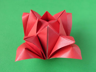 Origami, foto 2, Rosa 2 by Francesco Guarnieri