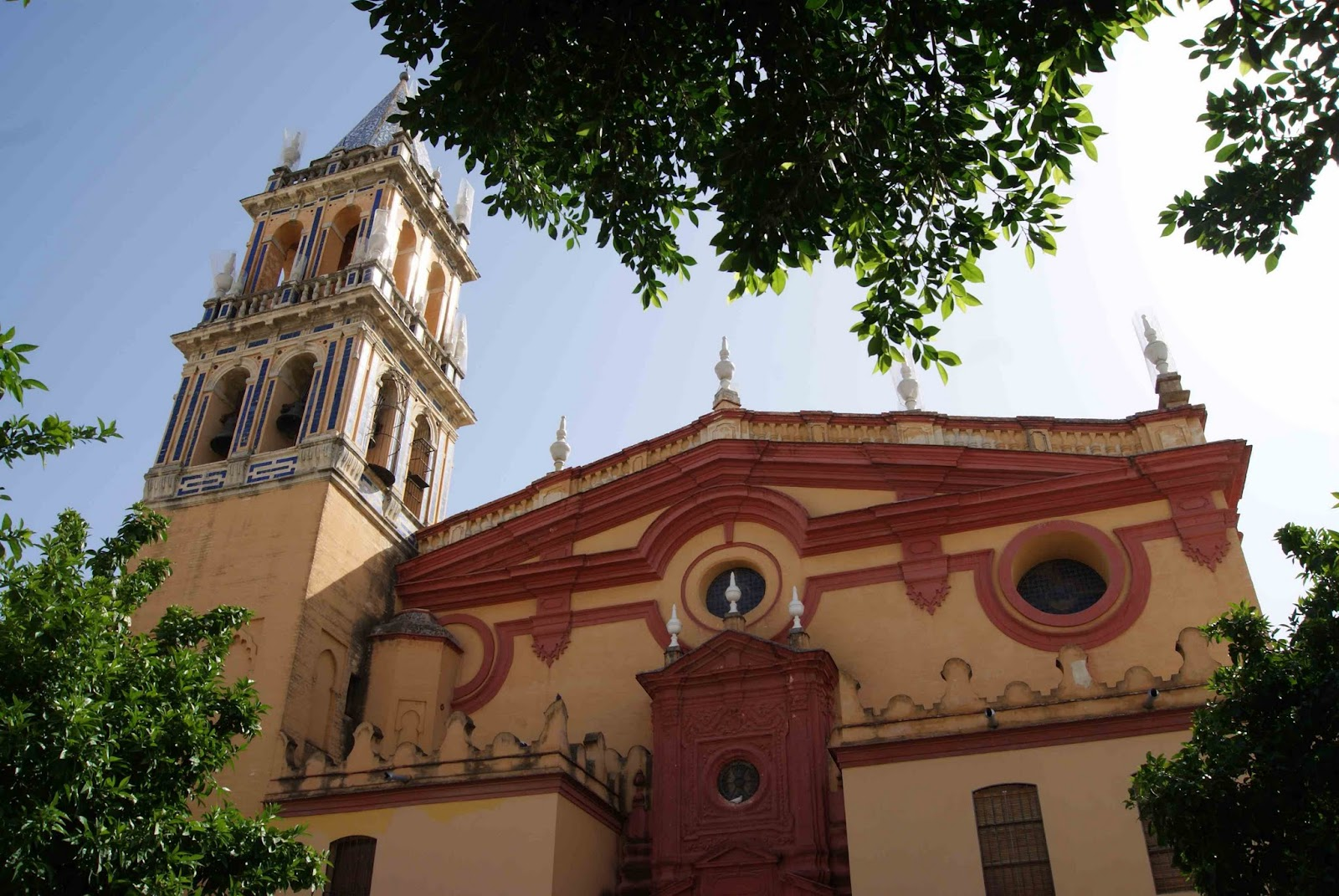 Leyendas de Sevilla: Real iglesia de Santa Ana, -I.