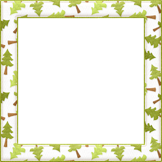 Borders and Frames of the Camping Bears Clip Art.