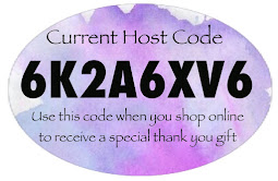 Shop online with me & I'll spend you a gift when you use this Host code 6K2A6XV6