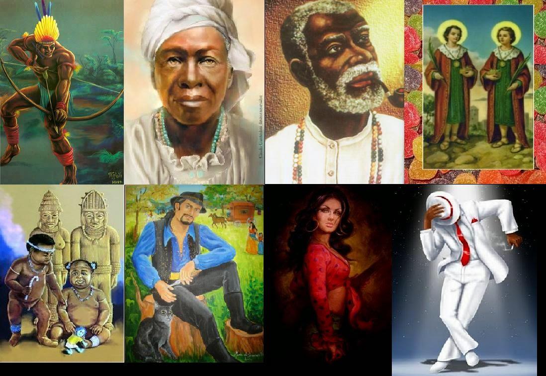Entidades espirituais da umbanda