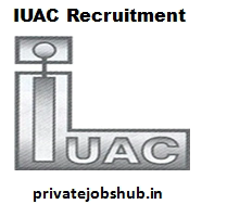 IUAC Recruitment