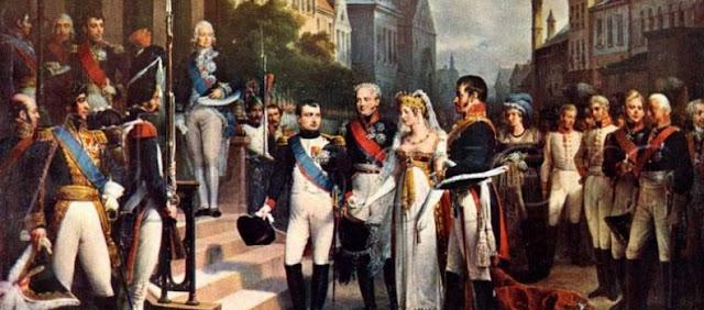 Federico Guillermo y Napoleon Bonaparte