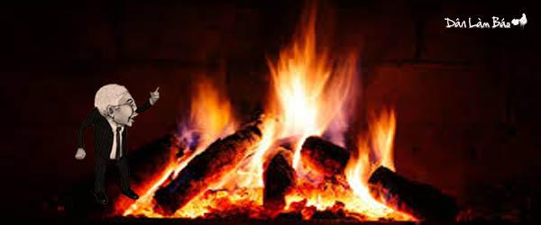 Image result for lò lửa đốt nguyễn Phú Trọng