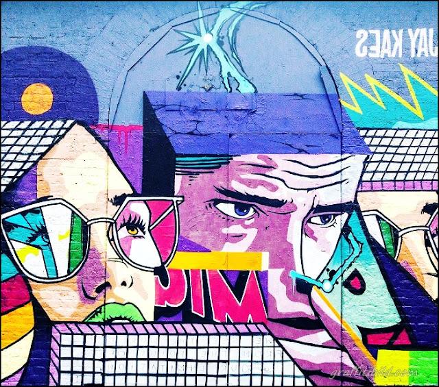 Straßenkunst, Graffiti, London, street art places in London