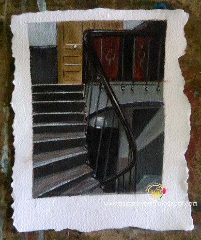 Stairway-at-48-rue-de-lille-paris-1906 EdwardHopper Series Hues n Shades