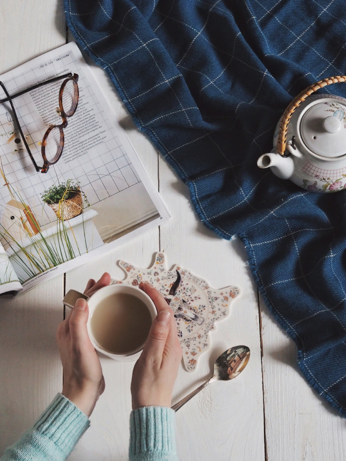 Moment cocooning : l'heure du thé