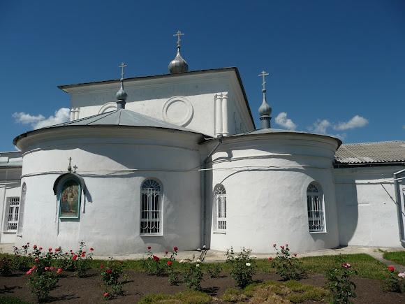 Старобельск. Свято-Скорбященский женский монастырь. Свято-Троицкий храм