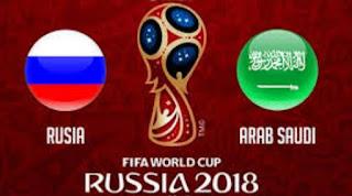 Prediksi Rusia vs Arab Saudi - Piala Dunia 2018