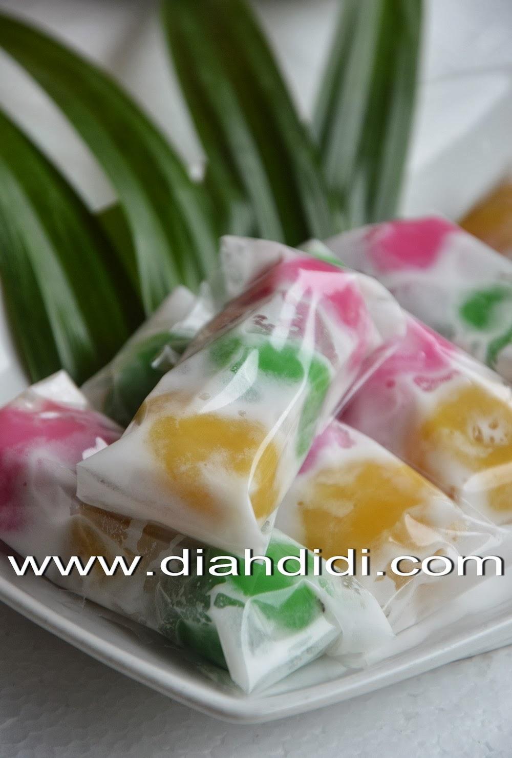 Diah Didis Kitchen Kue Mendut Warna Warni