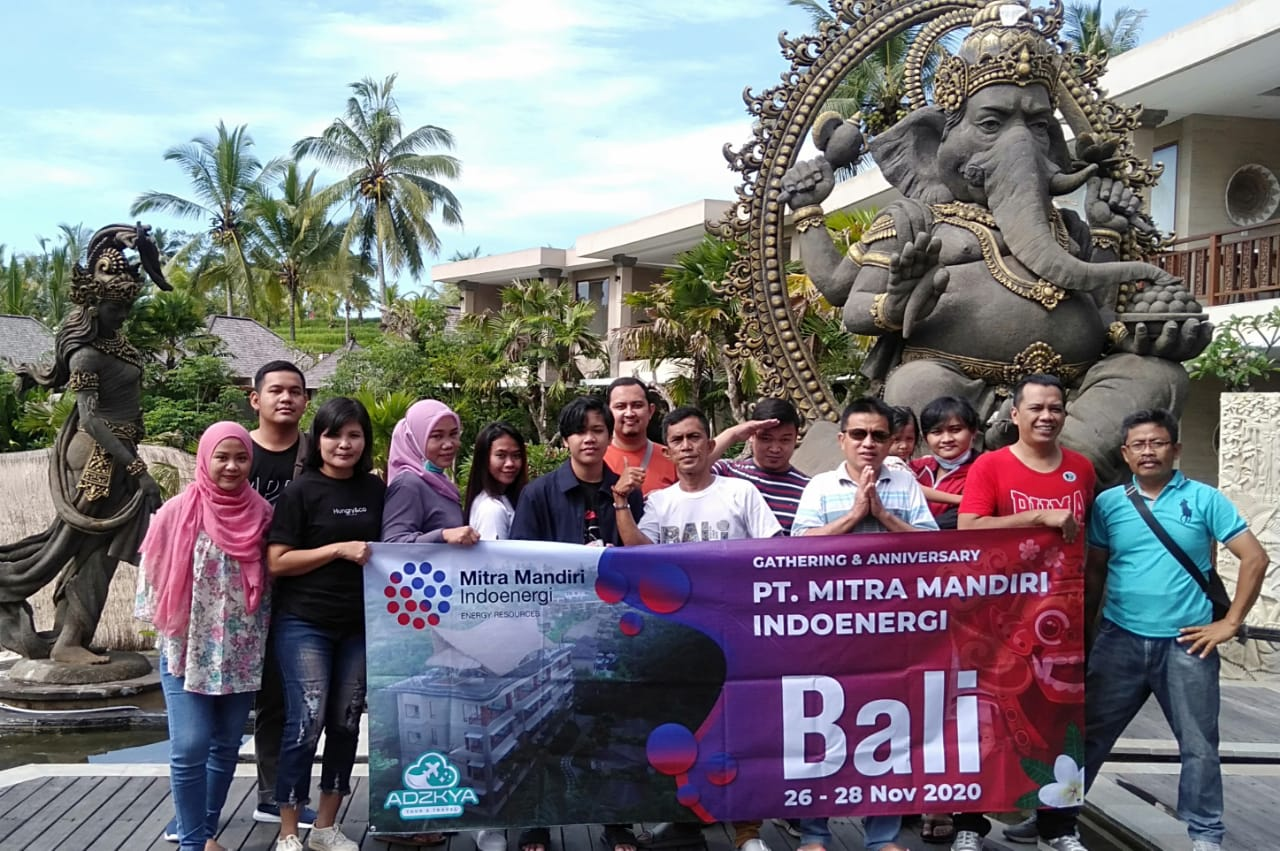 TOUR BALI WITH PT MITRA MANDIRI INDOENERGI 26 - 28 Nov 2020