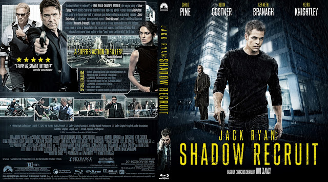 Capa Bluray Jack Ryan Shadow Recruit