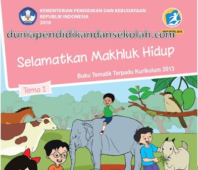 Download Buku Guru dan Siswa Revisi 2018 Kelas 6 SD/ MI Kurikulum 2013