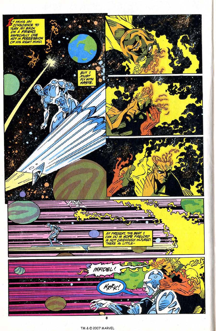 Read online Silver Surfer (1987) comic -  Issue #83 - 10