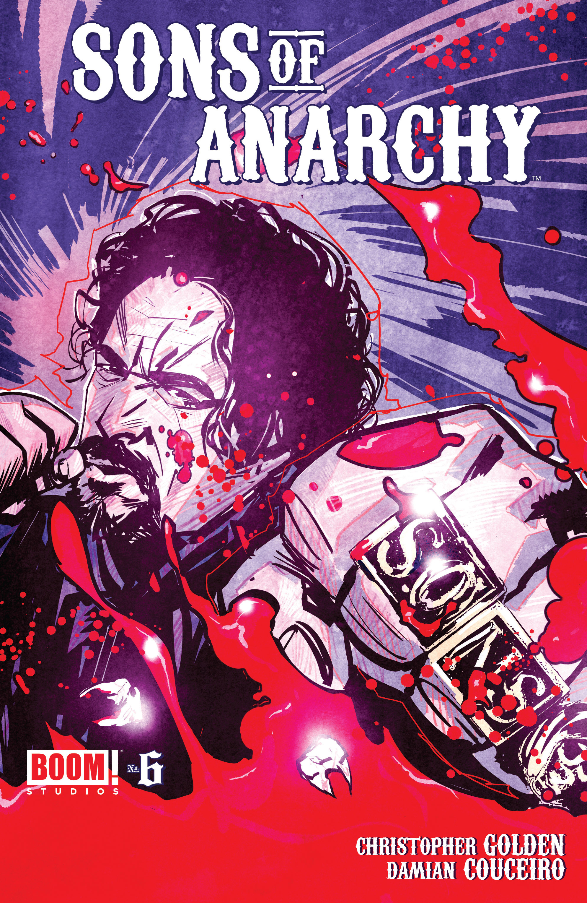 Read online Sons of Anarchy comic -  Issue #6 - 1