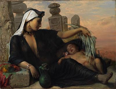 Egyptian Fellah Woman (1878), Elisabeth Jerichau-Baumann