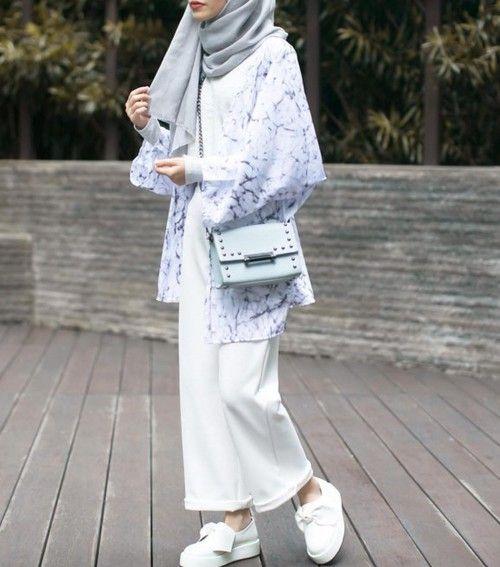 15+ Trend Gaya Fashion Hijab Remaja Masa Kini